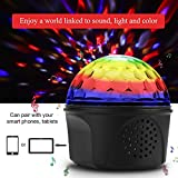 Disco Ball Light, Disco Lights Party Lights with Remote Control, USB 3 Colors