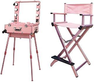 Angel Beauty Portable Make Up Artist Chair & Pro Studio Artist Trolley, FULL SET