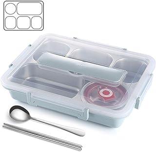 「美しいです」弁当箱 保温弁当箱 薄型 お弁当用 1700ML 会社/学校/キャンプ/ハイキングに適用 食器付き 大容量 ランチボックス (写真色C)