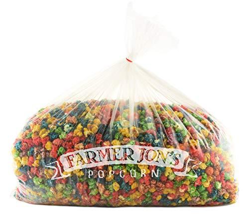 Why Choose Farmer Jon's Popcorn Colorful Caramel Bash Bag, 400oz of Bulk Colored Gourmet Popped Popc...