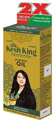 Kesh King Ayurvedic Medicinal Oil, 120ml(Ship from India)