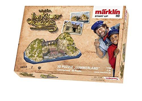 "Märklin Start up 72786 - 3D Puzzle \""Lummerland\"", Spur H0"