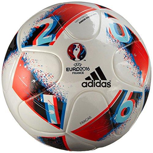 adidas EURO16 J350 - Fußball Ball - Herren, Weiß, 4