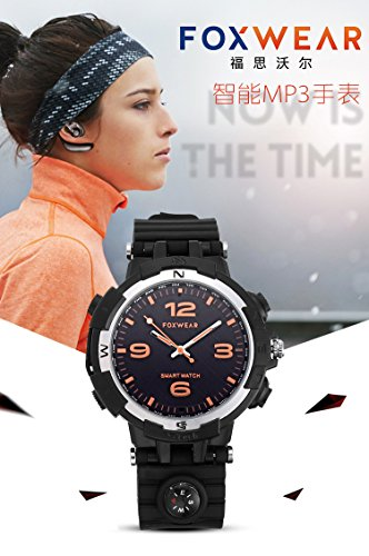Purchase Smart Bluetooth MP3 Watch Remote Control Photo Sport Pedometer Sleep Monitor Watch