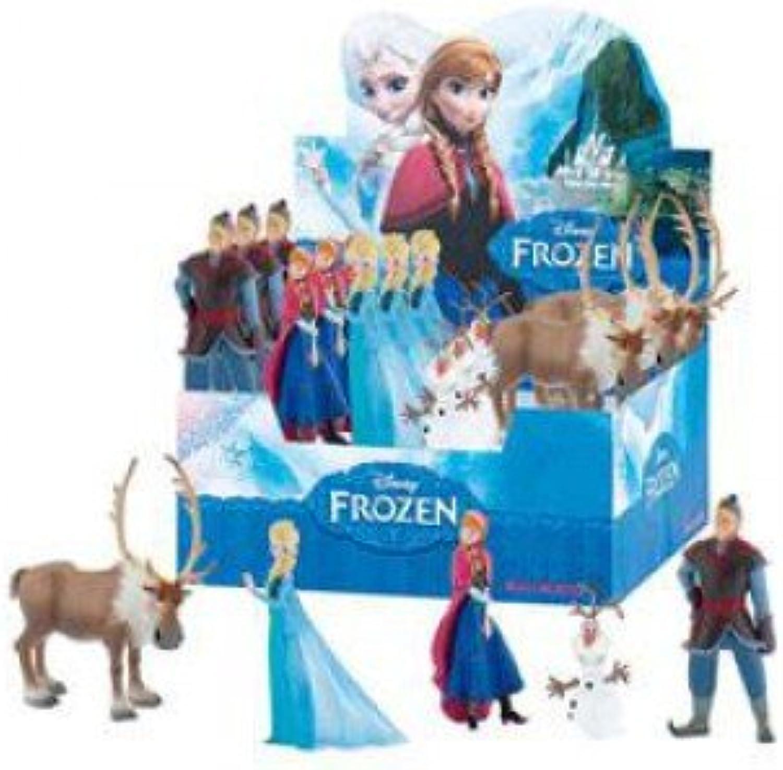 Bullyland 12078 Handpainted Figures of Frozen Characters, bluee