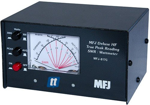 MFJ Enterprises Original MFJ-817C Deluxe VHF/UHF True Peak 144/220/440 MHz Cross Needle SWR/Power Meter. Buy it now for 119.99