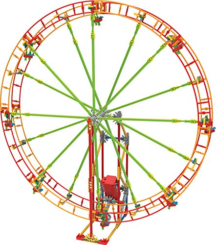 K'NEX Revolution Ferris Wheel Building Set – 344 Pieces with Battery Powered Motor – Ages 7+ Engineering Education Toy