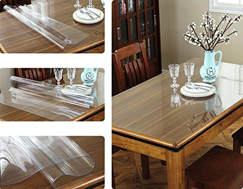 HISURE Good quality whaterproof pvc protector for table or desk table with all kinds of size available