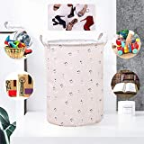 TIANLING Caja de almacenaje Cesta de lavandería Plegable Capacidad DE LOUNDARIA...