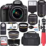 Nikon D5300 24.2 MP DSLR Camera + AF-P DX...