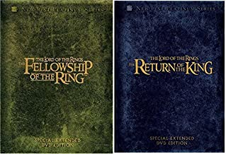The Lord of the Rings - Fellowship of the Ring (Extended Edition) & Return of the King (Extended Edition) 8-DVD Bundle