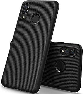 جراب KuGi Huawei Nova 3، جراب TPU ناعم للحماية من الصدمات لهاتف Huawei Nova 3، أسود