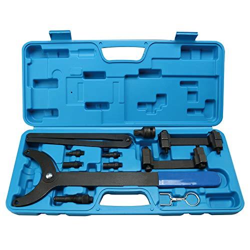 FreeTec Motor Einstellwerkzeug geeignet Steuerkette Nockenwellen Werkzeug Kompatibel mit Audi A4 A5 A6 Q5 1018