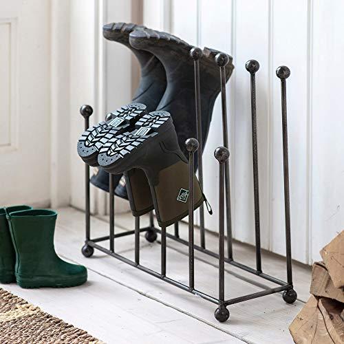 CKB LTD Welly Stand Wellington Boot Rack Vervaardigd in Staal – Indoor Large Houdt 6 paar laarzen, wandelschoenen of…