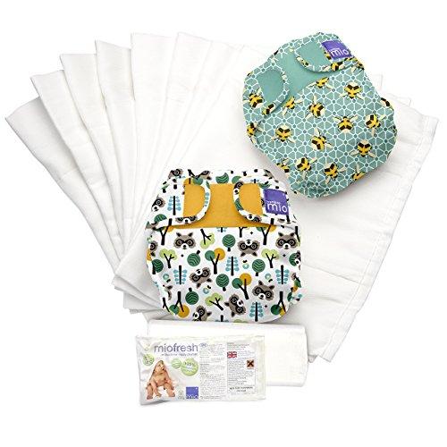Bambino Mio Miosoft - Set de pañales de tela, diseño viajero de ensueño A, talla 1 (