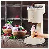 Helado Fabricante completamente automático Mini fruit Fruit Soft Sirve Máquina de helado para el hogar Eléctrico DIY COCINA MAQUINA DE SORVETE PARA NIÑO,Chocolate color