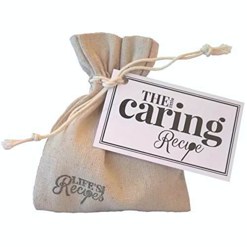 The Little Caring Recipe - A Unique Gift or Token to Show You're Thinking of a Friend who has had a Loss, Sadness or Going Through a Bad time. Express Condolences & Sympathy & to Show You Care.