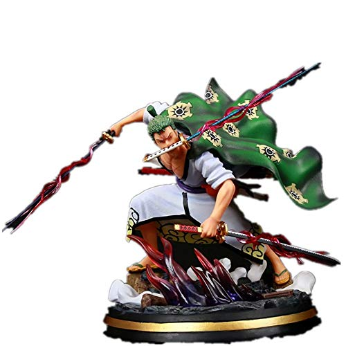 From HandMade One Piece Figur Roronoa Zoro Wano Land Abbildung Anime-Abbildung Action-Figur