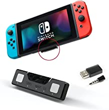 Adaptador Bluetooth para Nintendo Switch Lioncast | Accesorios Nintendo Switch Bluetooth Dongle Aptx Cascos Nintendo Switc...