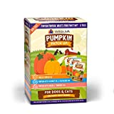 VARIETY: Give your dog or cat all the benefits of pumpkin with this variety 12 pack that contains four (4) each of Puréed Pumpkin, Pumpkin with Coconut Oil & Flaxseeds, and Pumpkin with Ginger & Turmeric. PUMPKIN SUPERFOOD: Pumpkin is an amazing supe...
