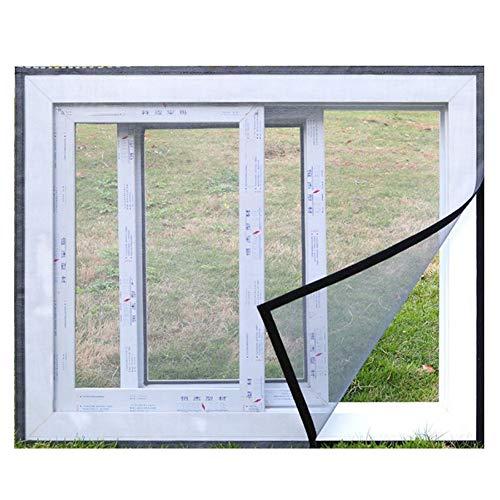 Selbstklebende Falttüren und Fenstergitter, selbstklebende und selbstklebende abnehmbare Sandtür-Mückenschutzgitter-1200 x 1000 mm