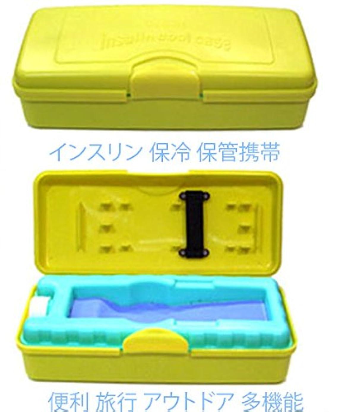 しおれた司法明らかインスリン保管箱、、インスリンポーチ 保冷 携帯 に 便利 旅行 アウトドア 多機能