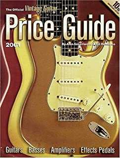 The Official Vintage Guitar Price Guide, 2001 Edition (Official Vintage Guitar Magazine Price Guide)