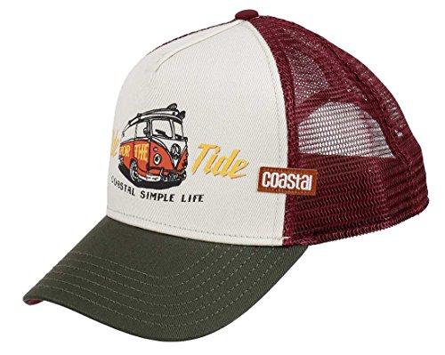COASTAL Homme Casquette de Camionneur - Ride Tide (beige) - Trucker Cap