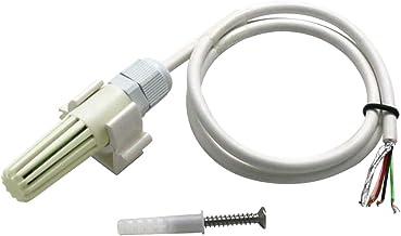 Sensor de humedad temperatura salida RS485 alta precisión larga duración blanco