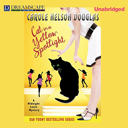 Cat in a Yellow Spotlight cover art