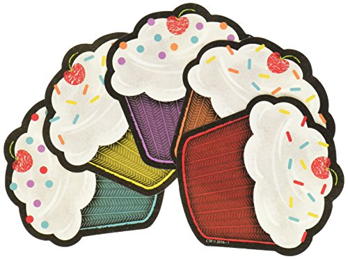 Price comparison product image Creative Teaching Press Chalk It Up Happy Birthday Cut Outs,  3 in (8077)