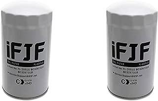 iFJF Oil Filter for Ford F250 F350 F450 F550 6.7L Powerstroke Turbo DieselEngine 2011-2018 Replace FL2051S BC3Z-6731-B BC3Z6731B (Set of 2)