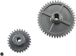 Ktyssp Upgrade Metal Reduction Gear + Motor Gear Part for WLtoys 144001 1/14 4WD RC Car