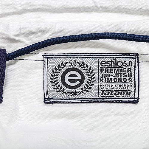 TATAMI Women's Estilo 5.0 Premier BJJ Gi White F1