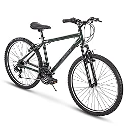 """top 10 huffy bikes men Huffy Hardtail Mountain Trail Bicycle 24 """", 26 ″, 27.5"""", 26 ″ Wheels / 17 ″ Frame,…"""