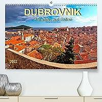 Dubrovnik - Paradies auf Erden (Premium, hochwertiger DIN A2 Wandkalender 2022, Kunstdruck in Hochglanz): Dubrovnik - an drei Seiten vom Meer umspuelte Stadt, Weltkulturerbe der UNESCO. (Monatskalender, 14 Seiten )
