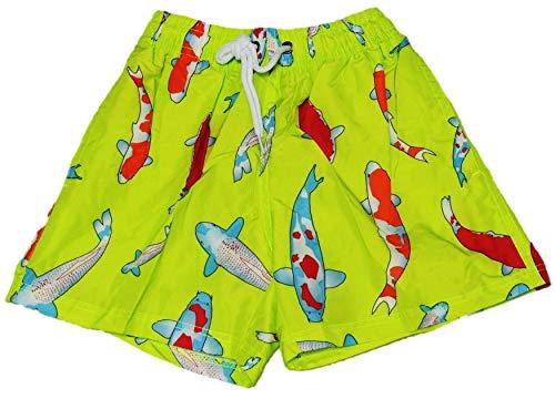 Kleurrijke jongens zwemshorts/zwembroek in maat 104-158