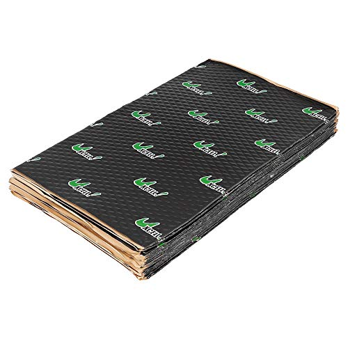 uxcell 17pcs 80mil 18sqft Car Sound Deadener Heat Insulation Mat Pad...