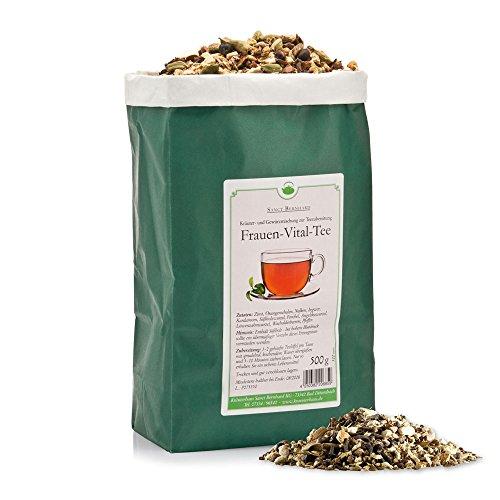 Sanct Bernhard Frauen-Vital-Tee mit Orange, Nelken, Ingwer, Kardamom, Fenchel, Löwenzahn 500 g