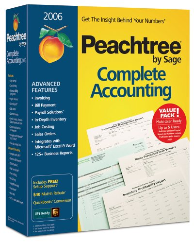 Peachtree Complete Accounting 2006 Multi-User