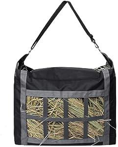 Tylu Horse Hay Bag Large Capacity Slow Feed Feeder Hay Nets Tote Bags for Horses Goat Alpacas