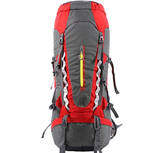 Sac à Dos De Camping De Randonnée En Plein Air Multifonctionnel Grande Capacité 70L Sac à Dos De Loisirs Alpinisme Unisexe Sac à Dos Tactique,A-30*20*85cm-56-75L
