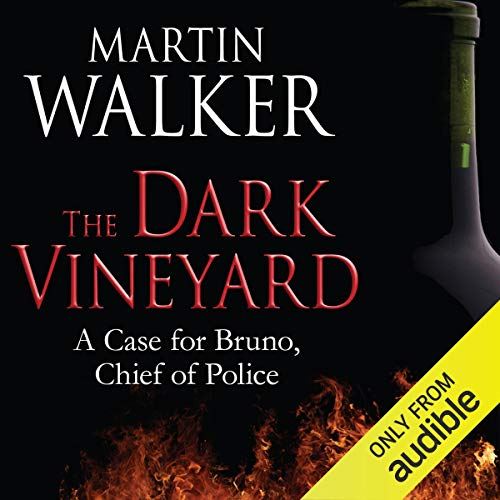 The Dark Vineyard audiobook cover art
