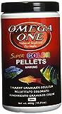 Omega One Super Color Sinking Pellets, 2mm Pellets, 16.25 oz