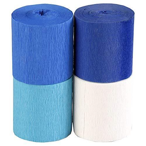 Clairefontaine Papel crepé, Blues, 5cmx10m
