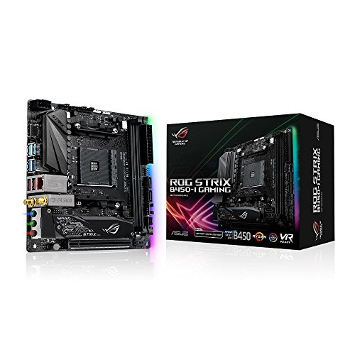 ASUS ROG Strix B450-I Gaming - Placa Base Gaming ITX