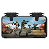 EMISH PUBG Mobile Game Controller Gamepad Trigger Aim Button L1R1 Shooter Joystick for iPhone Android Phone Game Pad Accesorios