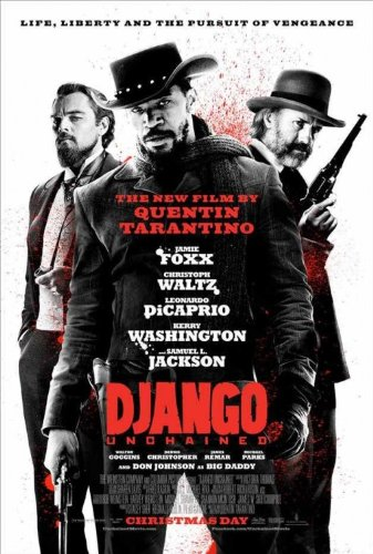 DJANGO UNCHAINED (2012) Original Authentic Movie Poster 27x40 - Dbl-Sided - Rolled - Jamie Foxx - Christoph Waltz - Leonardo DiCaprio - Kerry Washington