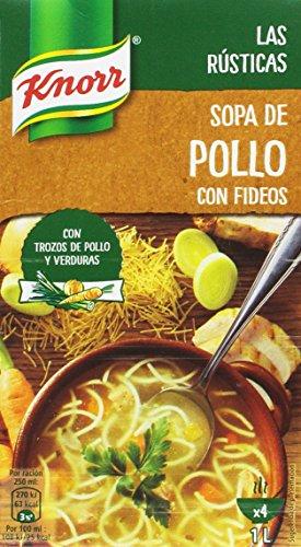 Knorr Pollo con Fideos, 1000 ml