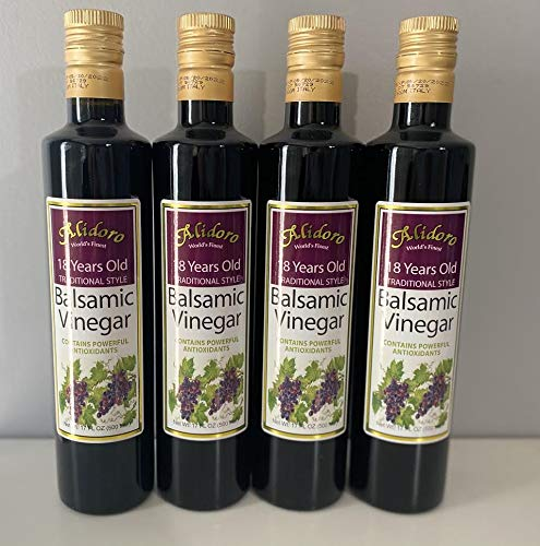 18 Years Old Traditional Style Balsamic Vinegar (PACK of 4).
